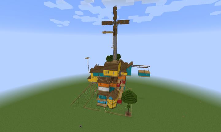 Hello Neighbor Act 3 (Adventure Map) Minecraft Project
