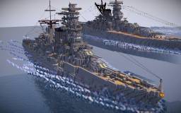 "Original Battlecruiser ""Aso"" Minecraft Map & Project"