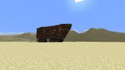 Jawa Sandcrawler Minecraft Map & Project