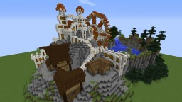 Brinehearth - Temple of Fesnos -Monumental temple contest Minecraft Project