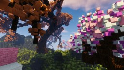 Blossom Plateau Minecraft Project