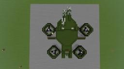 C-21 Dragon assault ship (AVATAR) Minecraft Map & Project