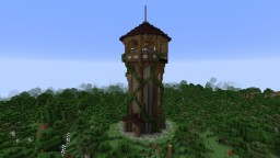 Bombard Tower Minecraft Project