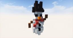 Christmas Snowman Minecraft Project