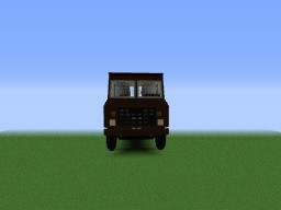 Huge UPS Truck (With Working Engine) Minecraft Map & Project