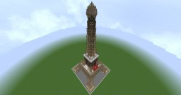 Eiffel Tower scale 1/1 | Tour Eiffel échelle 1/1 Minecraft Map & Project