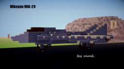 Mikoyan MiG-29 Minecraft Project