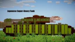 Japenese WW2 Heavy Tank Minecraft Map & Project