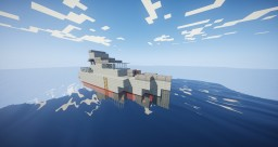 Archer-class Patrol Boat [1:1 Scale] Minecraft Map & Project