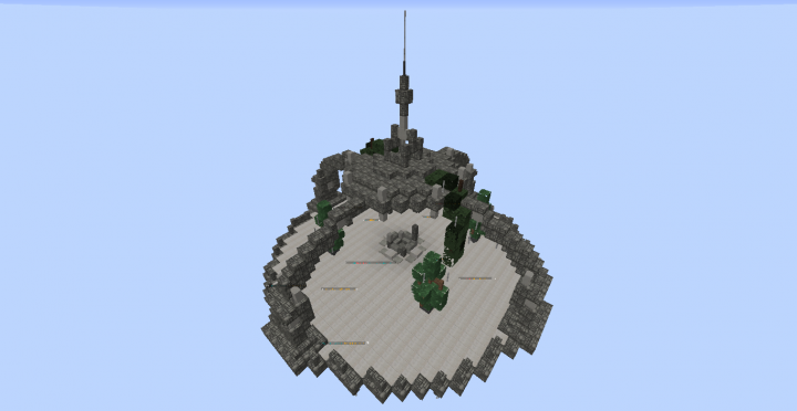 Our magical flying spawn! Not that impressive, but dont worry - were working on it.