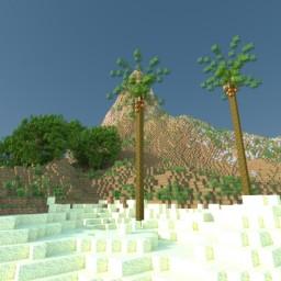 Aldur's Paradise Beach (Render) Minecraft Project