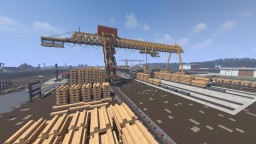 Gainsville Sawmill | TRS Minecraft Project
