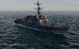 USS Oscar Austin DDG-79 | Arleigh Burke Flight IIA destroyer | Scale: 1,5:1 Minecraft Project