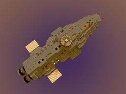 IZUNI-Class Corvette (Base) Minecraft Map & Project