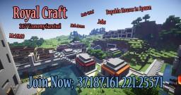 RoyalCraft 24/7  [Economy Survival] Minecraft Server
