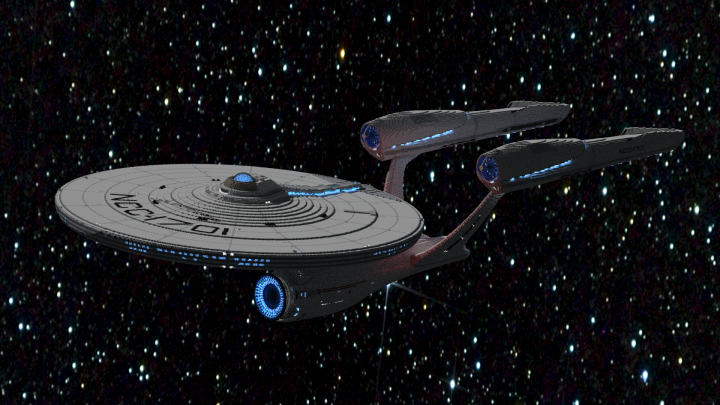 USS Enterprise Beyond Refit
