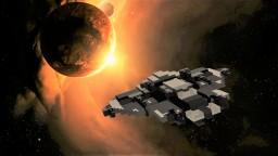 Harradox-class gunship Minecraft Map & Project