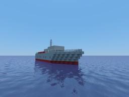 HMS Washington (remake) Minecraft Project