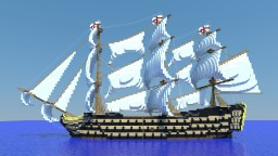 HMS Victory V3 Minecraft Map & Project