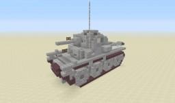 4:1 Pz.Kpfw.38(t) Minecraft Project