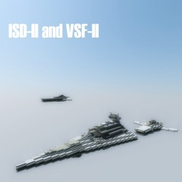 ISD-II and VSF-II Minecraft Map & Project