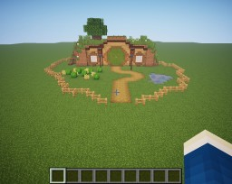 The Hobbit Hole Minecraft Map & Project