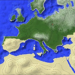 Europe Minecraft Maps Projects With Downloadable Map