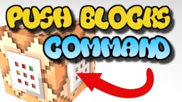 Command Block Push Blocks Tutorial Bedrock Edition Minecraft Project