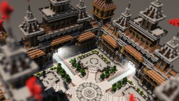 Medieval Hub Commission Minecraft Map & Project