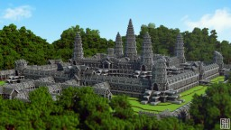 Angkor Wat | Monumental Temple Minecraft Map & Project