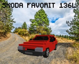 SKODA FAVORIT 136L 1.3 43kW (1988) Minecraft Project