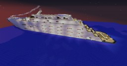 Modern Luxury Yacht - Pride of Scotland - Pride Class Minecraft Map & Project
