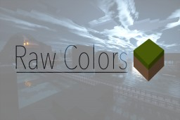 RawColors: Low-Contrast Cartoon Pack w/ Dubstep Minecraft Texture Pack