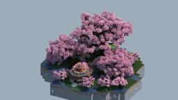 Sakura god tree Minecraft Map & Project