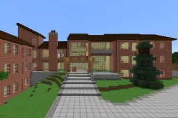 Cornell University Low Rise 6 Dormitory Minecraft Map & Project