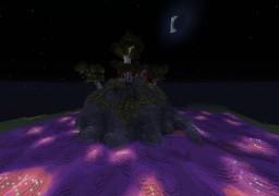 Oriental Temple of Purple Minecraft Project