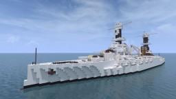 Fictional Argentine Battleship - ARA General San Martín - For L4UTY_Z3R0 Minecraft Map & Project