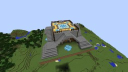 1 of 4 Terracotta Designed Spawn Platforms Minecraft Map & Project