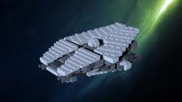 Spazex-class gunship Minecraft Map & Project