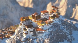 Sumadha Monastery | Saphire Studios Minecraft Map & Project