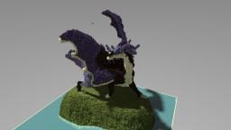 An Epic Dragon Organic Minecraft Project