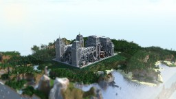 Survival Spawn | Gothic Town Hall | WINTER Gamers Minecraft Map & Project