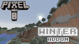 Pixel-8 WINTER ADDON v1 | 8x8 Minecraft Texture Pack