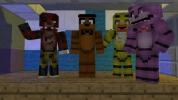 Five Nights At Freddy's 5 Horror Survival Map With Texture Pack Minecraft Map & Project