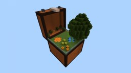 Survival In A Chest PE (Not Ported) ! Let's See How You Survive In A Small World Of Chest !! JUST SURVIVE ! Minecraft Map & Project