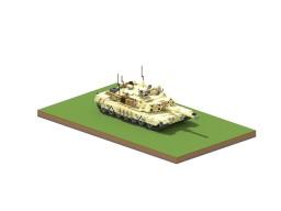 7:1scale M1A2 Abrams Minecraft