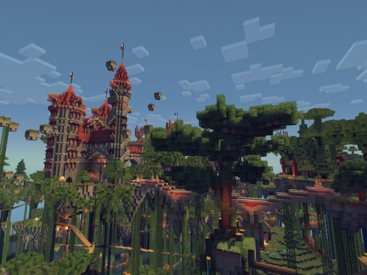 Skydonia Floating Island Kingdom