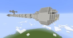 2001 Discovery One Spacecraft | 1:1 Scale Minecraft Map & Project