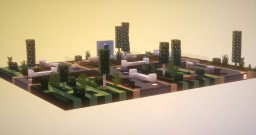 [OLD] Beautiful Small Modern City Park (100 Sub Special!) [Download] Minecraft Map & Project