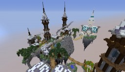 Floating Isles Village Minecraft Map & Project